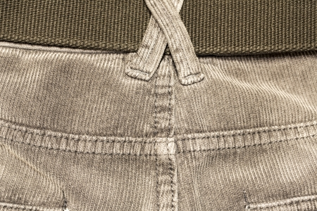 texture of fabric material - corduroy from men�s pants Stock Photo - 22561590