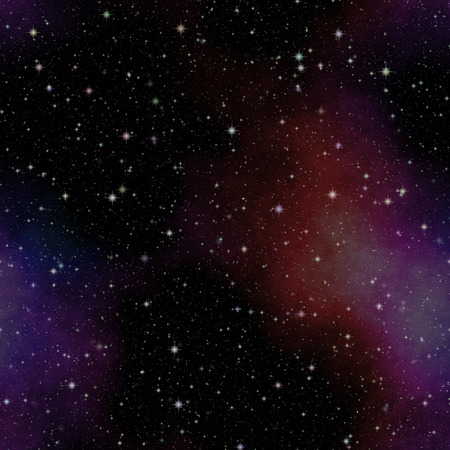 beautiful seamless texture of universe or space at night photo