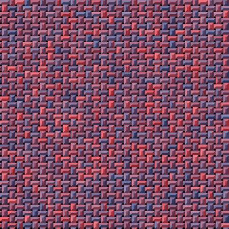 tejidos de punto: hermoso tejido de punto rojo y azul o tejido generado textura