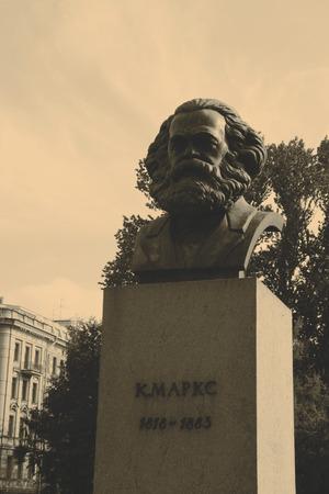 karl: Statue of Karl Marx - St.Petersburg, Russia
