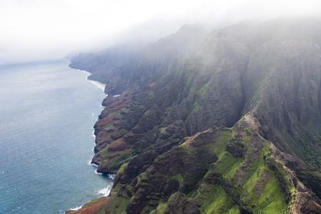 na: paradise on earth - Na Pali coast - Kauai, Hawaii Stock Photo