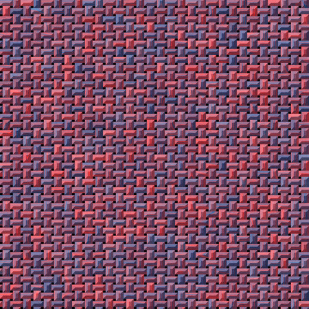 knitwear: beautiful red and blue knitwear or fabric generated texture Stock Photo