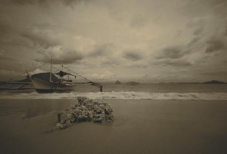 Beach, El Nido, Palawan, Philippines photo