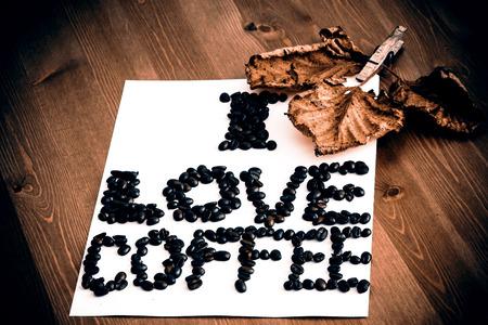 I love coffee note photo