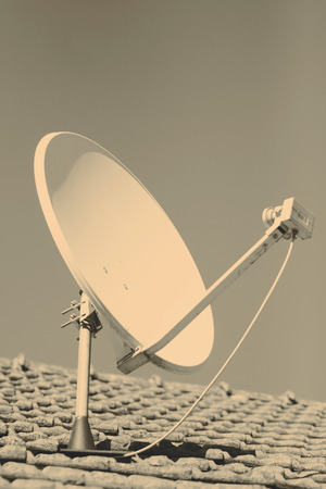 parabola: Satellite dish or parabola or antenna