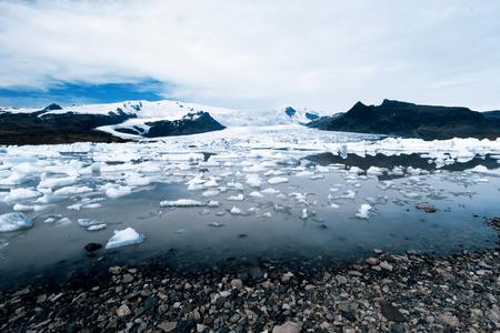 fjallsarlon: Glacier lake Fjallsarlon - Iceland