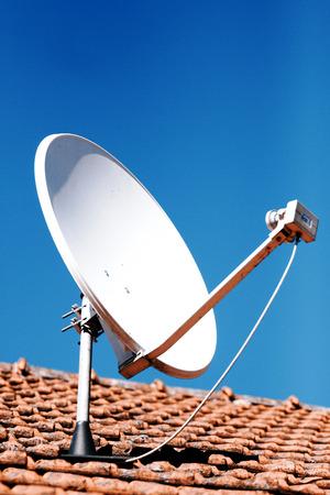 Satellite dish or parabola or antenna