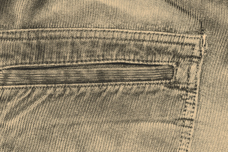corduroy: texture of fabric material - corduroy from men´s pants