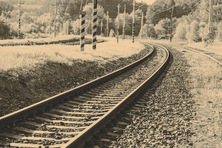locomotion: Beautiful old forgotten steel railway