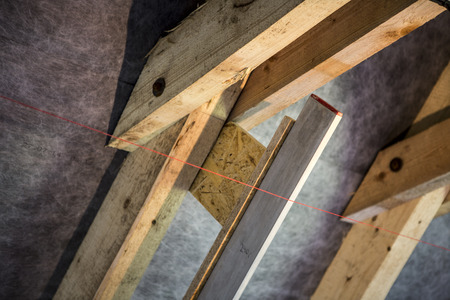 oriented: support panel from oriented strand board - diy holder for insulation, laser