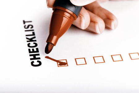 to do list: To Do list or checklist with check marks isolated on white