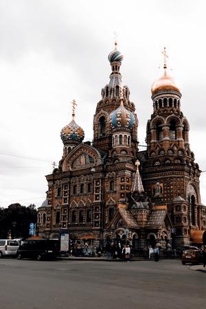 savior: Savior on the Spilled Blood, St.Petersburg, Russia Stock Photo