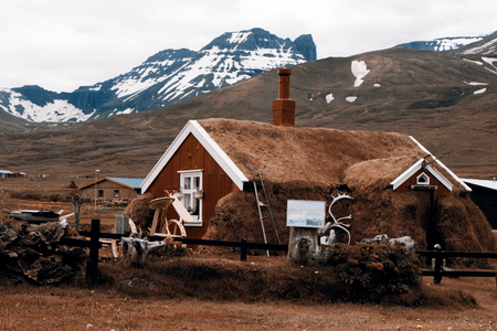 marken: Beautiful old farmhouse from Iceland