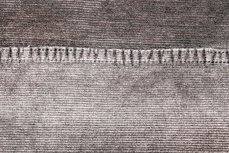 corrugation: texture of fabric material - corduroy from men´s pants