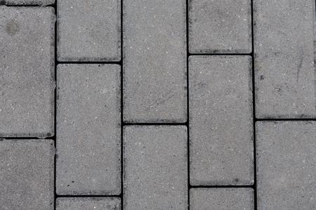 interlocking: detail of interlocking concrete pavement