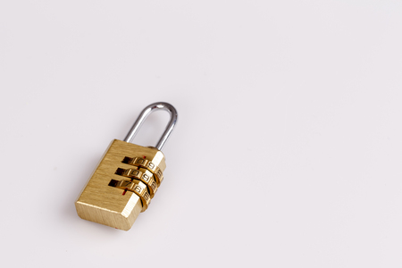 lock on the white - security, privacy