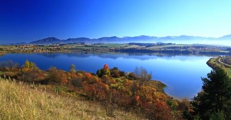 Liptovska Mara - water basin in region Liptov, Slovakia  Фото со стока