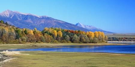 Liptovska Mara - water basin in region Liptov, Slovakia Stock Photo - 16268218