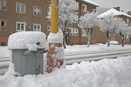 ruzomberok: Snow calamity - Ruzomberok, Slovakia