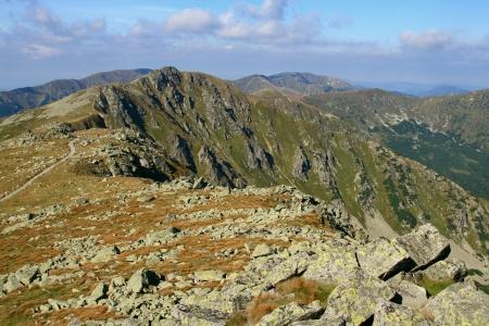 View from Chopok - Low Tatras mountains, Slovakia