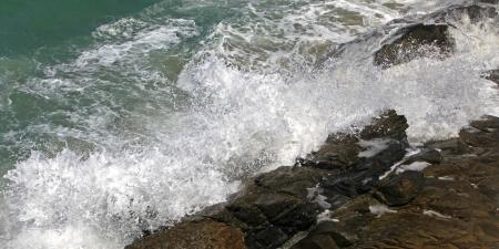 afflux: Mer agit�e � Cr�te, Gr�ce