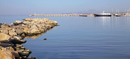 rethymno: City Rethymno at Crete, Greece Stock Photo