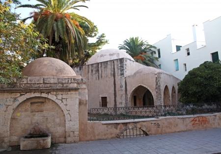 rethymno: City Rethymno at Crete, Greece Editorial
