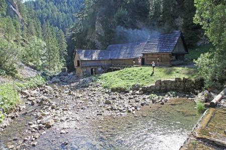 mill valley: Water mill at Kvacianska dolina - valley in region Liptov - Slovakia