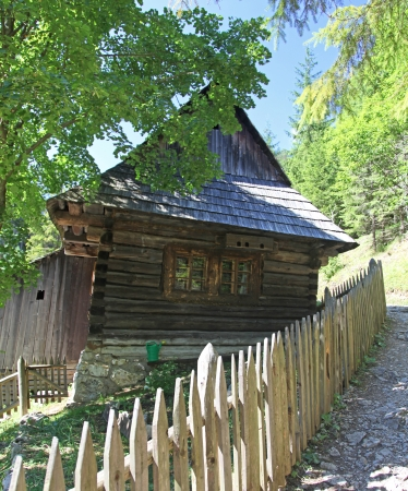 liptov: Water mill at Kvacianska dolina - valley in region Liptov - Slovakia