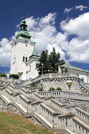ruzomberok: Roman catholic  at town Ruzomberok - Slovakia Stock Photo