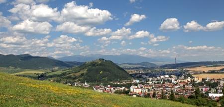 ruzomberok: Peque�o pueblo Ruzomberok en Eslovaquia