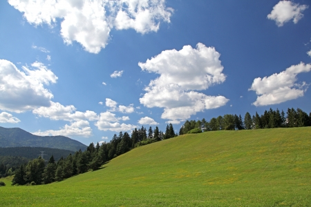 Beautiful nature in region Liptov - Slovakia Stock Photo