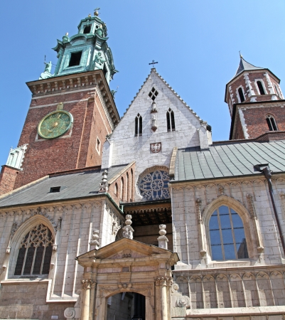 cracow: WAWEL royal castle in Cracow - Poland Editorial