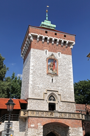 cracow: Historical building in city Cracow - Poland