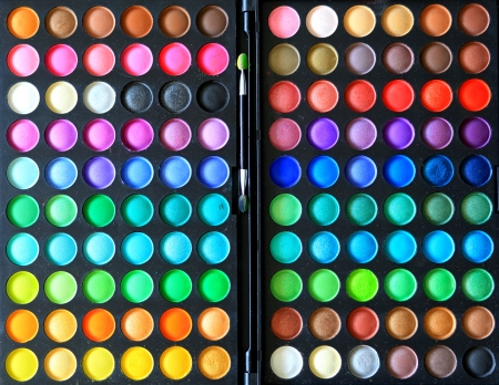 grease paint: Professional makeup palette