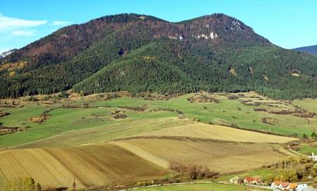 mnich: Hill Choc from hill Mnich - region Liptov, Slovakia