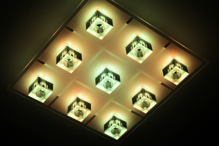 Modern lamp - detail Stock Photo - 23951149