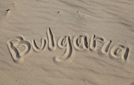 Bulgaria - tittle at sandy beach