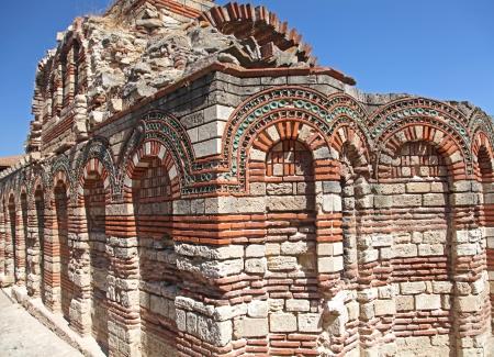 Historical church ARCHANGELS MICHAEL and GABRIEL in NESEBAR, Bulgaria Stock Photo - 24048442
