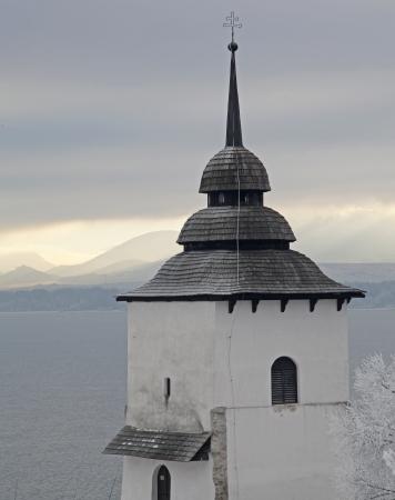 liptov: Snowy nature at Slovakia  Stock Photo