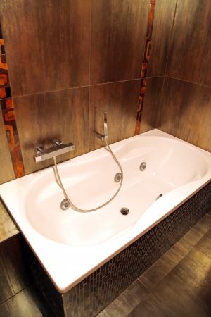 hydromassage: Modern bathroom