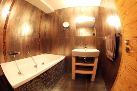 hydromassage: Modern bathroom and toilete