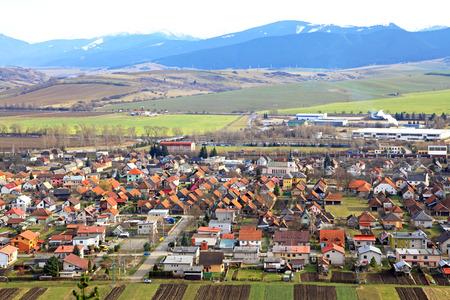dweling: Village Liskova, Slovakia Stock Photo
