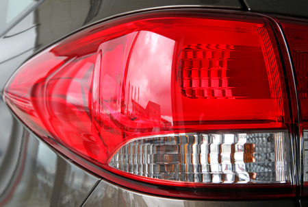 taillight: Taillight at the car