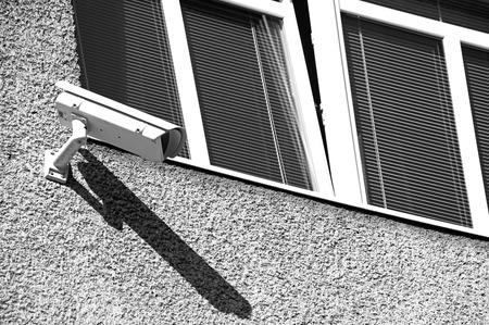 dweling: Camera on the building, Ruzomberok - Slovakia