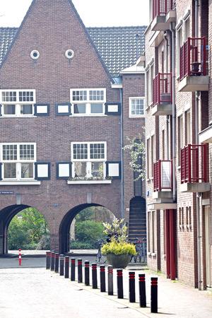 dweling: HERTOGENBOSCH, NETHERLANDS - APRIL 1: City  s-Hertogenbosch on April 1, 2014 in Hertogenbosch