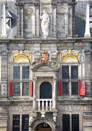 dweling: Town hall in city Delft - Netherlands