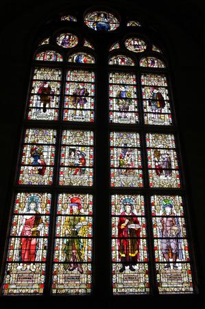 dweling: Interior of Rijksmuseum in Amsterdam, Netherlands Editorial
