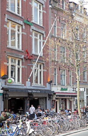 dweling: Typical architecture in Amsterdam - Netherlands