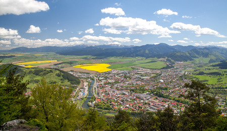 rapaseed: Town Ruzomberok, Slovakia